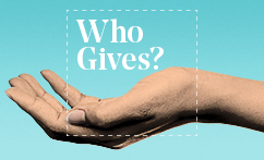 Who Gives?