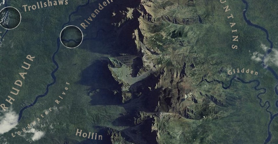 Did Maps In Middle Earth Have West: You Can Now Visit Middle Earth On Google Maps, If You're