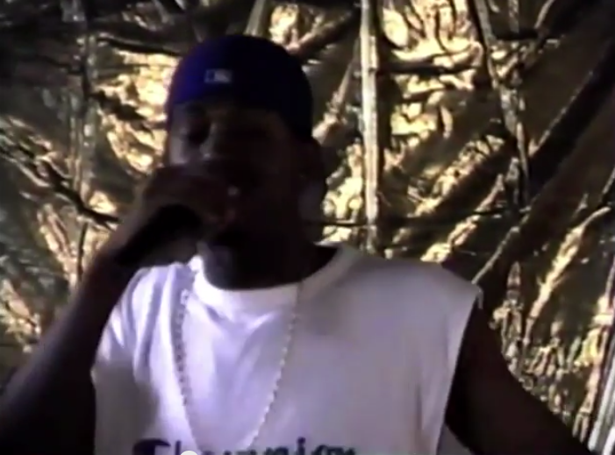 And Now For a Young Kanye West Rapping in 1998