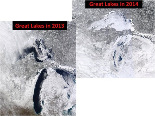 The Great Lakes' Massive Ice Cap Could Bring a Cooler Summer to the Region