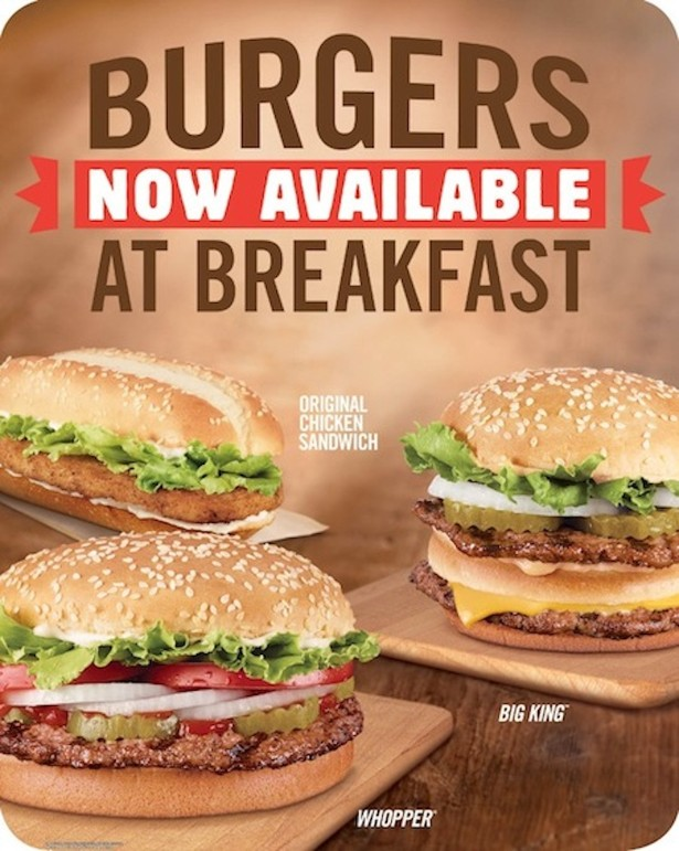 Burger Kings Plan To Win The Breakfast Wars Is Skip Right Lunch