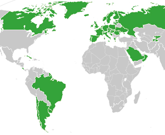 Here\'s a Map of the Countries That Provide Universal Health Care ...
