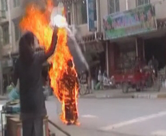 bruning buddhist single men What drives an ordinary man to burn himself to death  gruesome images of  thich quang duc, a buddhist monk, burning himself to death in.