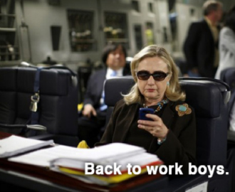 hillary clinton wants none of your whining about having it all