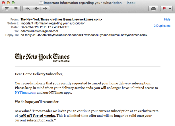 The New York Times Just Spammed 8 Million People by Accident - The ...
