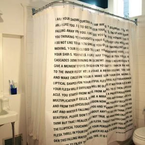 What A 65 Dave Eggers Shower Curtain Looks Like