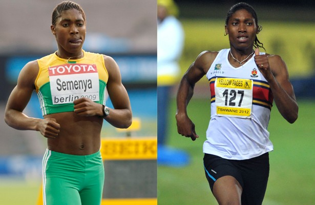 Runner Caster Semenya Looks a Lot More Feminine Than She ...