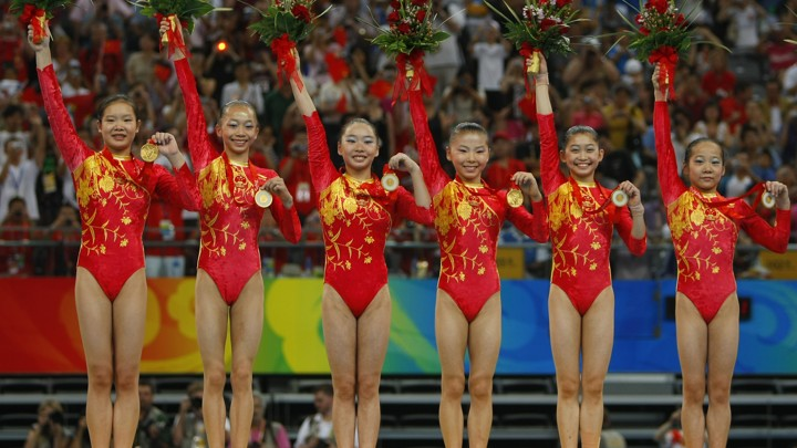 real chinese gymnast Age Is Just a Number for Chinese Gymnastic Team