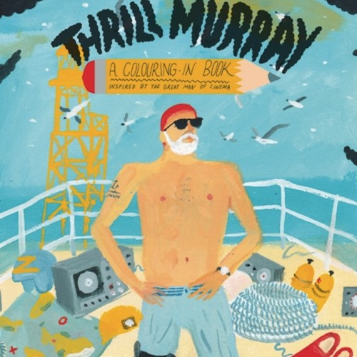 This Is What a Bill Murray Coloring Book Looks Like - The ...
