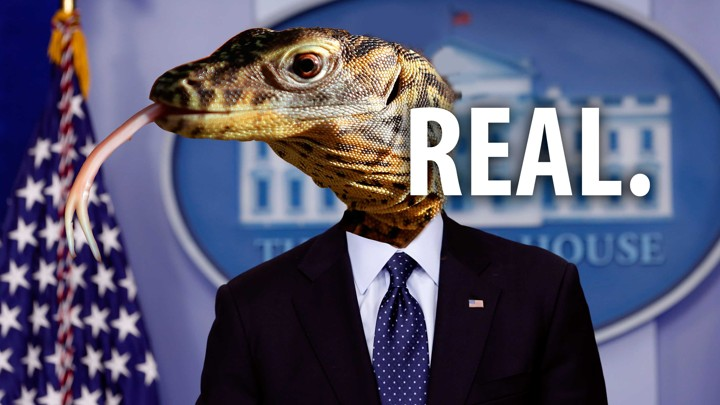 12 Million Americans Believe Lizard People Run Our Country - The