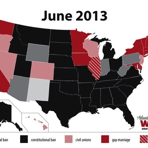 Gay Marriage United States Map.Here S Who Can Marry After The Supreme Court S Prop 8 Decision And