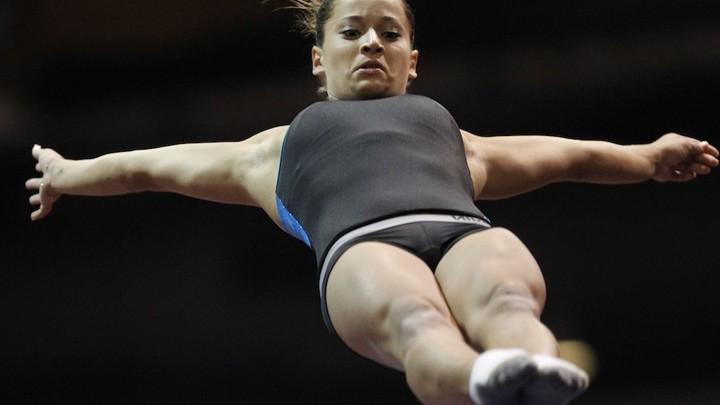 CHASITY: Boob in olympics shot
