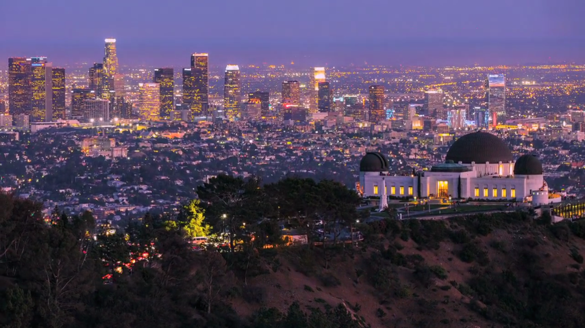 A Glamorous Time Lapse Of Los Angeles From Sunrise To