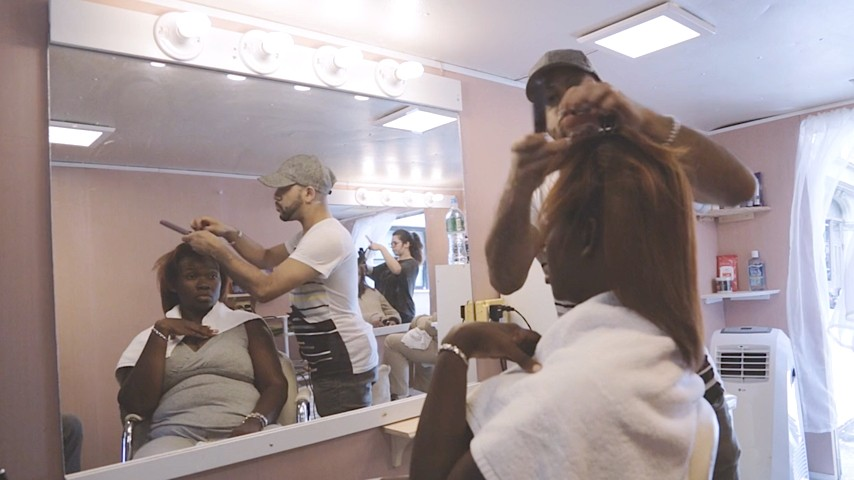 Inside A Salon On Wheels For The Homeless The Atlantic