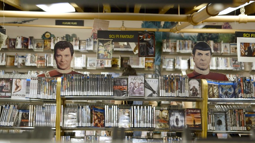 the nostalgia of a video rental store videoport in