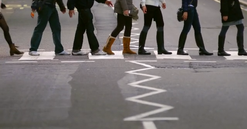 What the Beatles' Abbey Road Crosswalk Looks Like Today ...