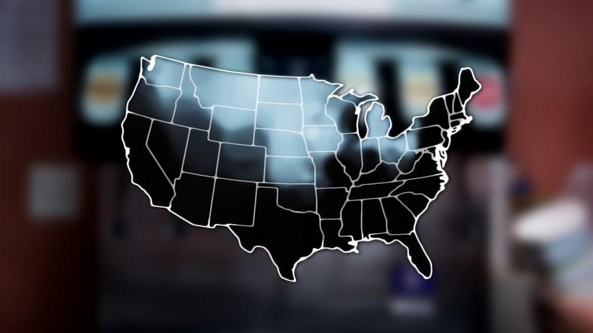Soda Vs Pop Vs Coke Mapping How Americans Talk The Atlantic - Map of us coke pop soda