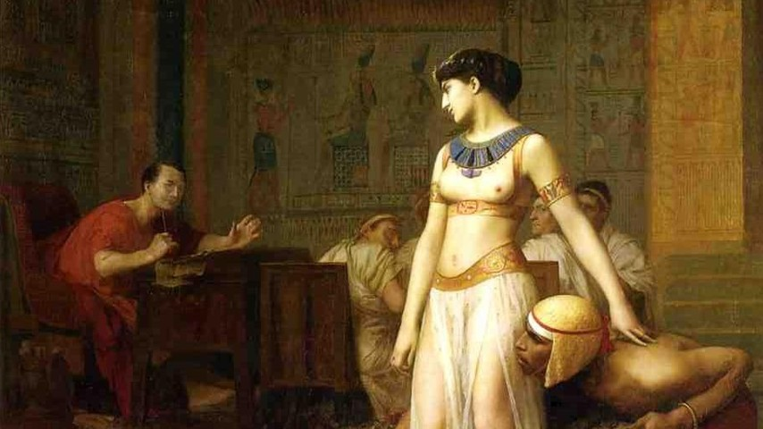 cleopatra and her relationship with roman caesars However, we may consider the relationship of cleopatra and caesar  only a few months into her exile, a roman civil war allowed her to meet caesar,  julius caesar & cleopatra.