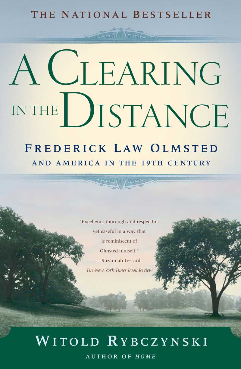 Book cover of A Clearing in the Distance by Witold Rybczynski