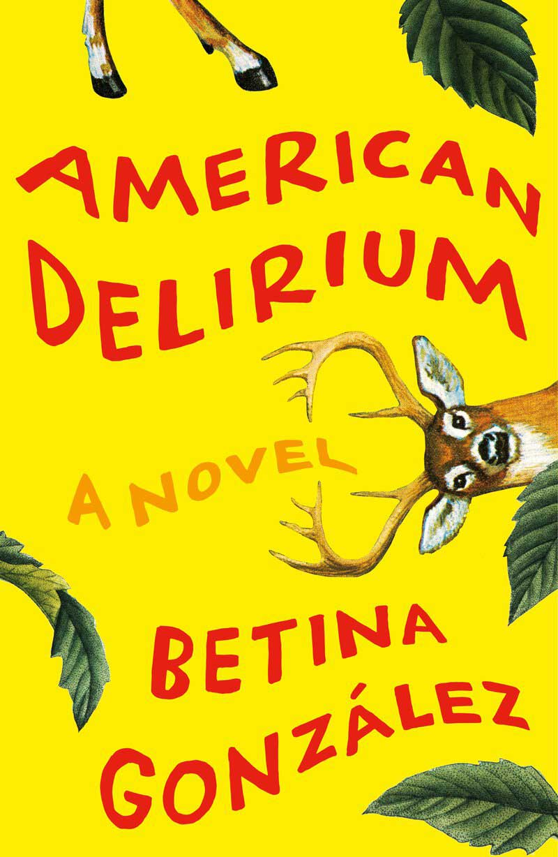 Book cover of American Delirium by Betina González