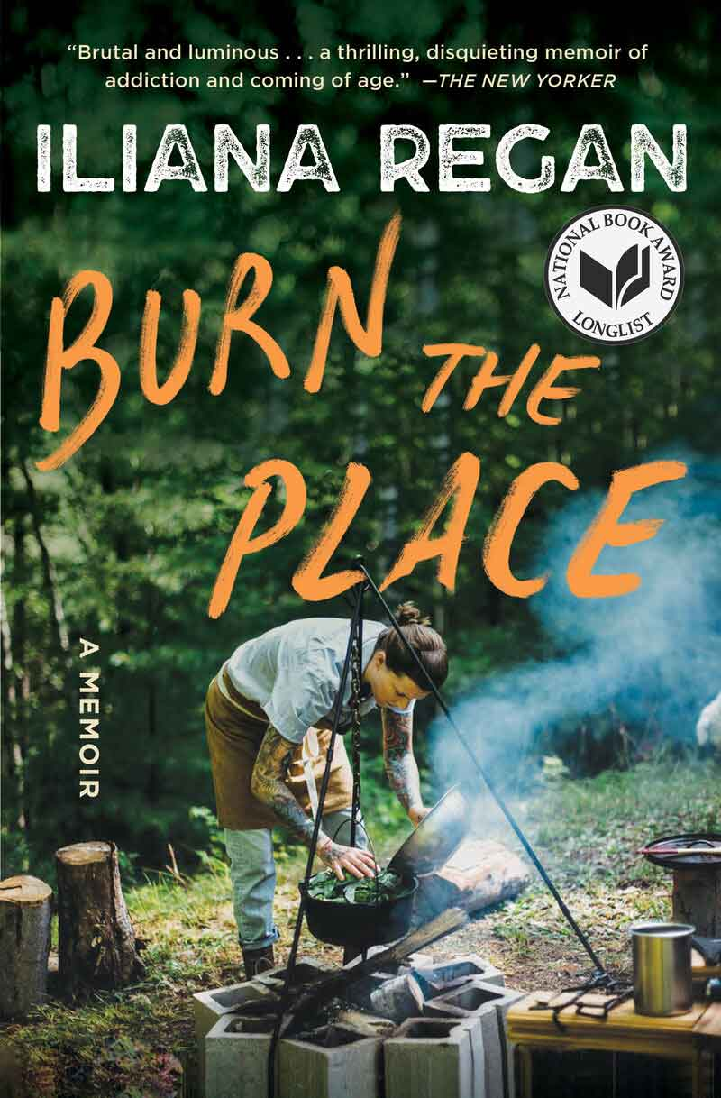 Book cover of Burn the Place by Iliana Regan