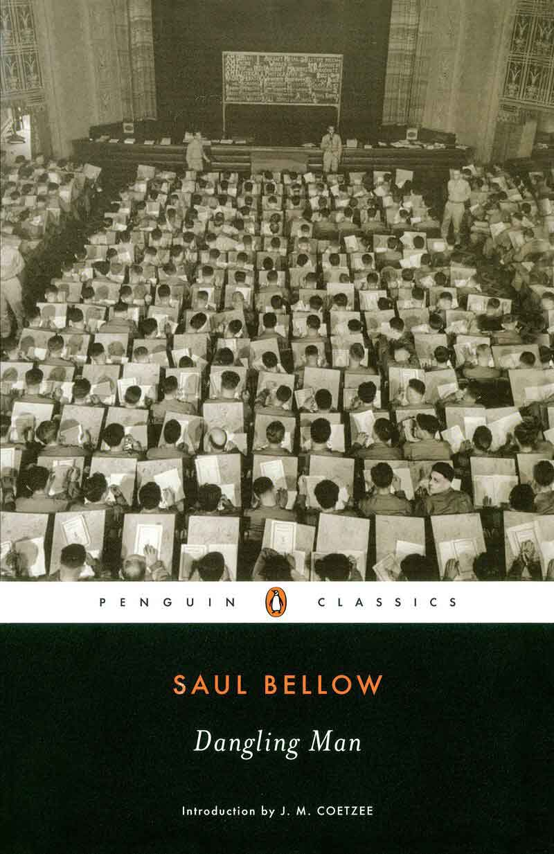 Book cover of Dangling Man by Saul Bellow
