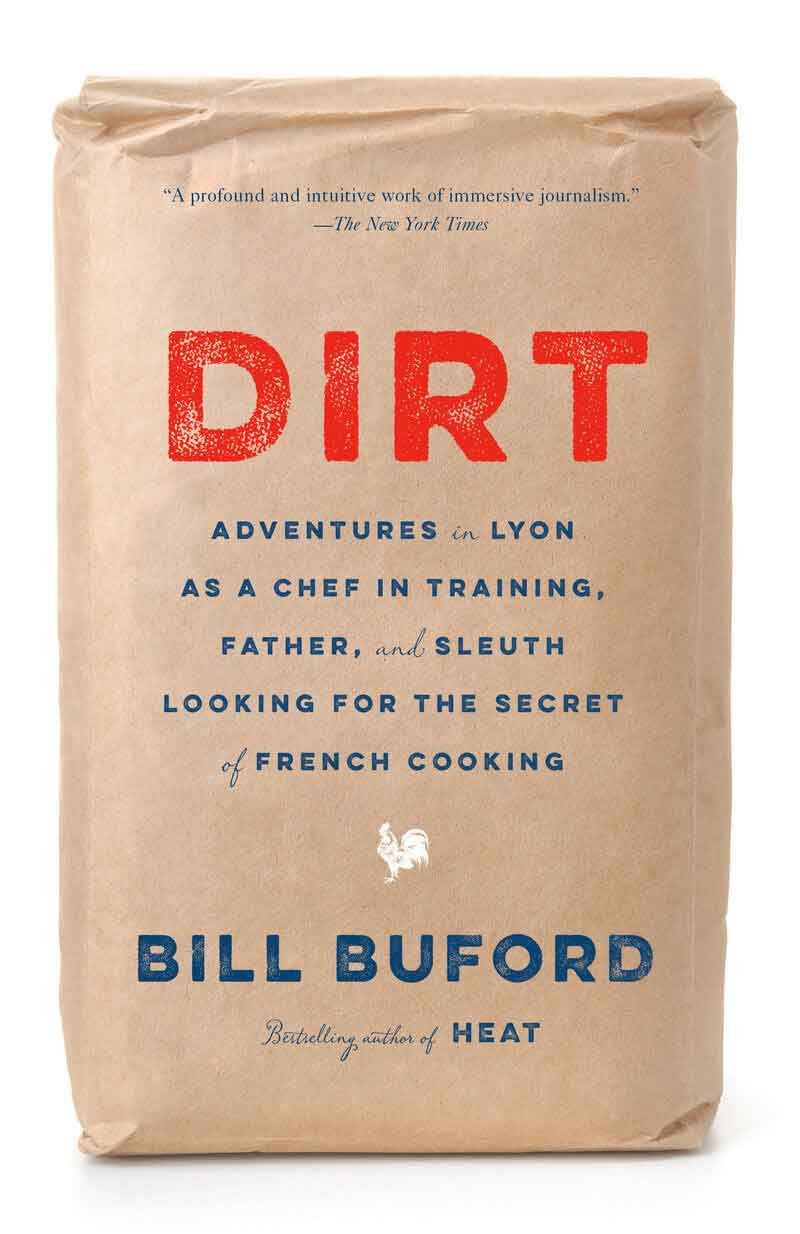 Book cover of Dirt by Bill Buford