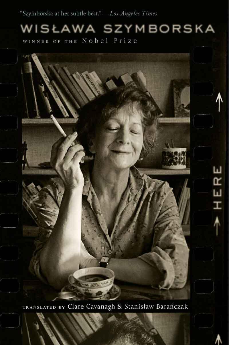 Book cover of Here by Wisława Szymborska