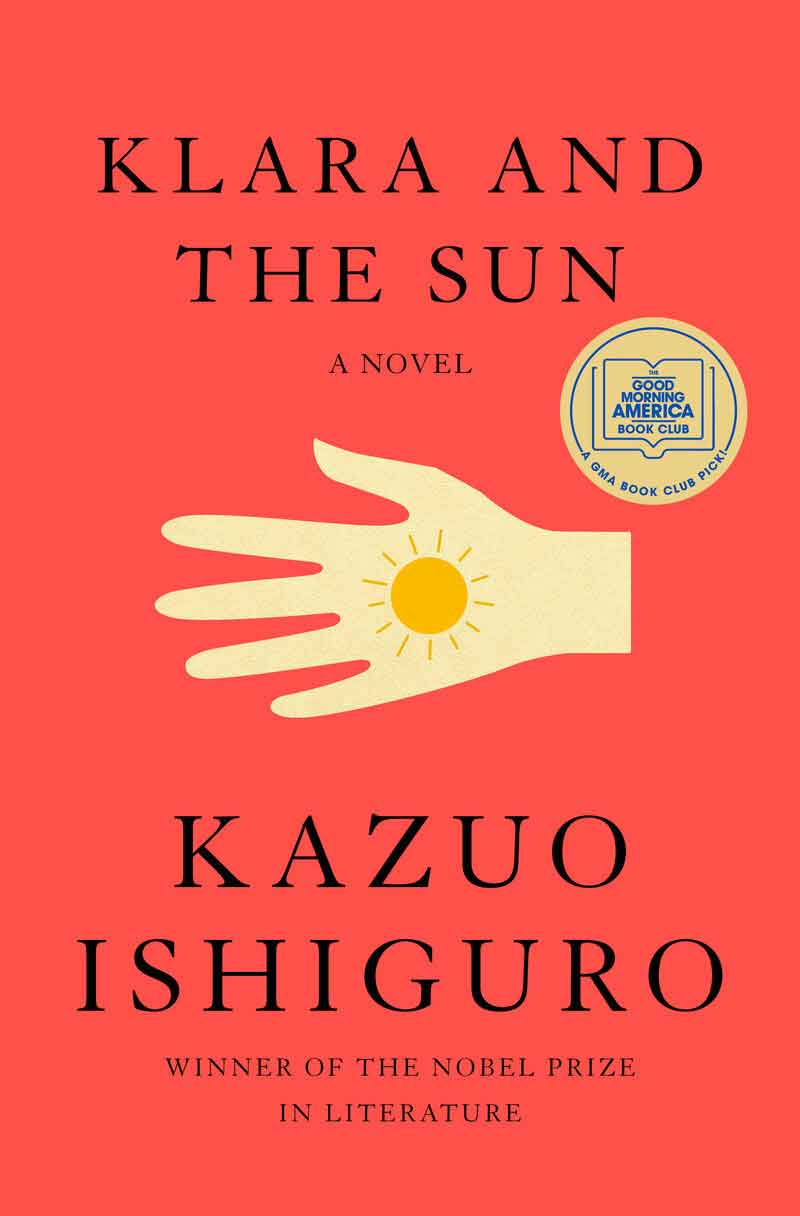 Book cover of Klara and the Sun by Kazuo Ishiguro
