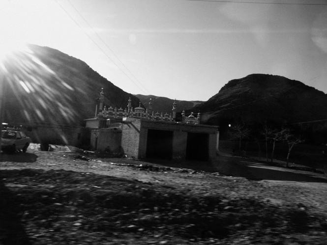 A mosque in Killa Saif Ullah, Pakistan