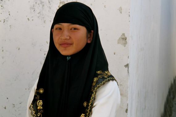 A young Hui girl in Dali, Yunnan, China Photo- Hugh Bohane.jpg