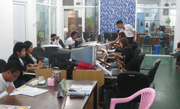 The Yangon Times newsroom.jpg