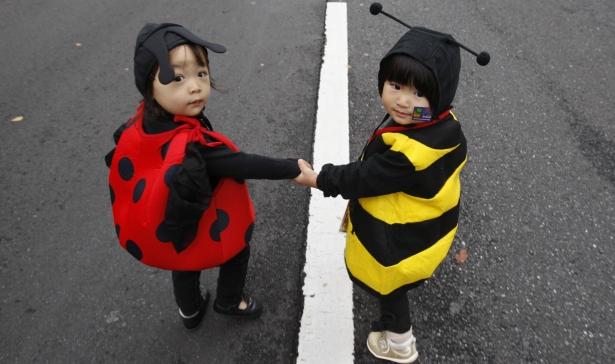 costumes kids ladybugs reuters 615.jpg
