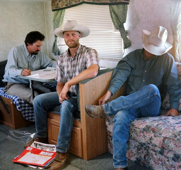 Zachary Jones, Brandon Dalton and Jim Howell, Horse Creek, SD copy.JPG