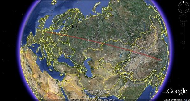 The China-Germany Rail Route