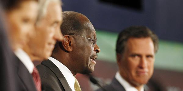 Cain NJ debate - Chris Keane Reuters - banner.jpg