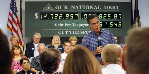Mitt Romney debt clock - Brian Snyder Reuters - banner.jpg