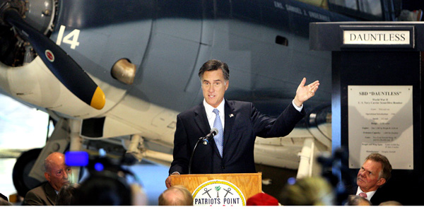 Mitt Romney foreign policy speech - Grace Beahm The Post and Courier AP - banner.jpg