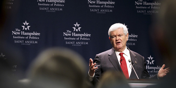 Newt Gingrich speaking - AP Photo:Cheryl Senter - banner.jpg