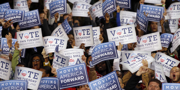 Obama vote signs - Larry Downing Reuters - banner.jpg