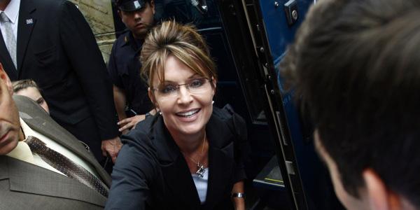 Palin near bus door - Reuters - banner.jpg