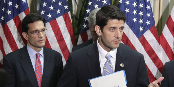 Paul Ryan plan with Cantor - AP Photo:Carolyn Kaster - banner.jpg