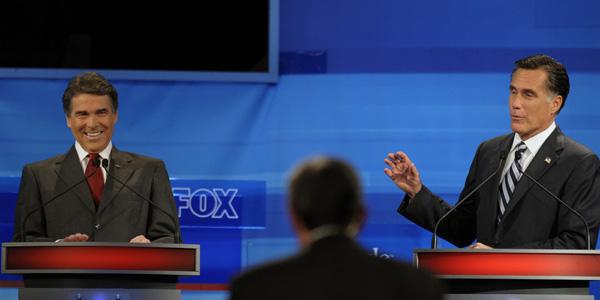 Romney Perry GOP FL debate 2 - Reuters - banner.jpg