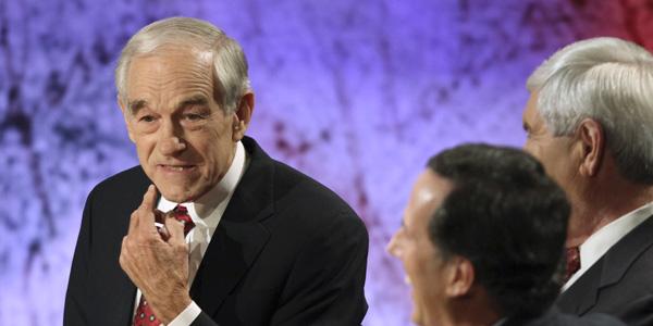Ron Paul debate - Jim Cole AP - banner.jpg