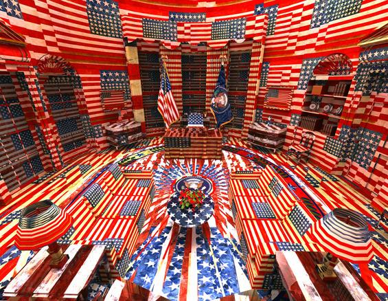 Jon Rafman - Jasper Johns Oval Office.jpg
