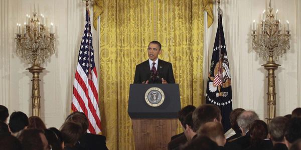 Obama at press conference in East Room - AP Photo:Carolyn Kaster - banner.jpg