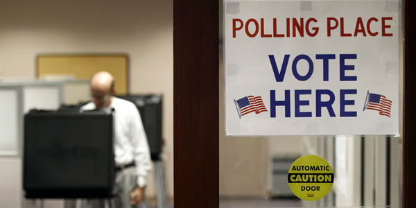 polling place - Larry Downing : Reuters - banner.jpg