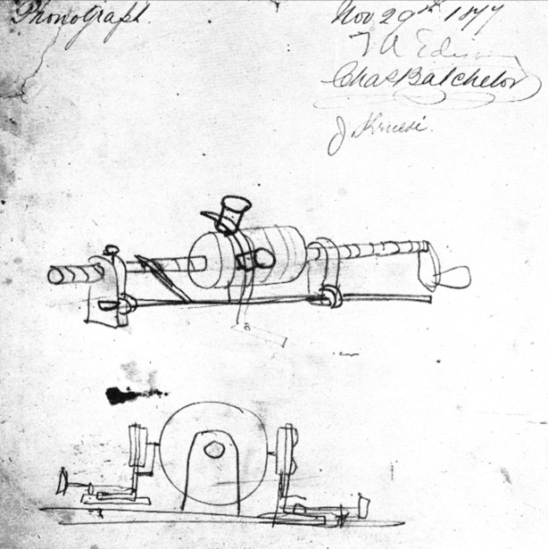 Edison phonograph sketch November 29 1877.jpg