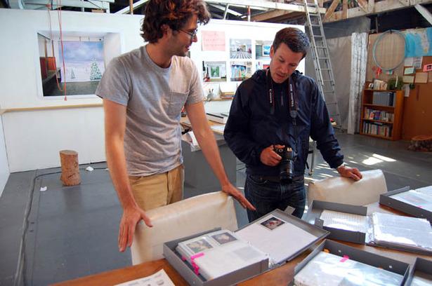 19 12 Geoff and Michael talking in the studio 670.jpg
