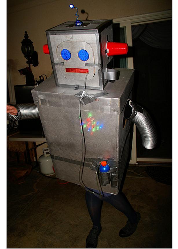 Costume Halloween Robot.The Best Halloween Costume Is A Robot Halloween Costume The Atlantic